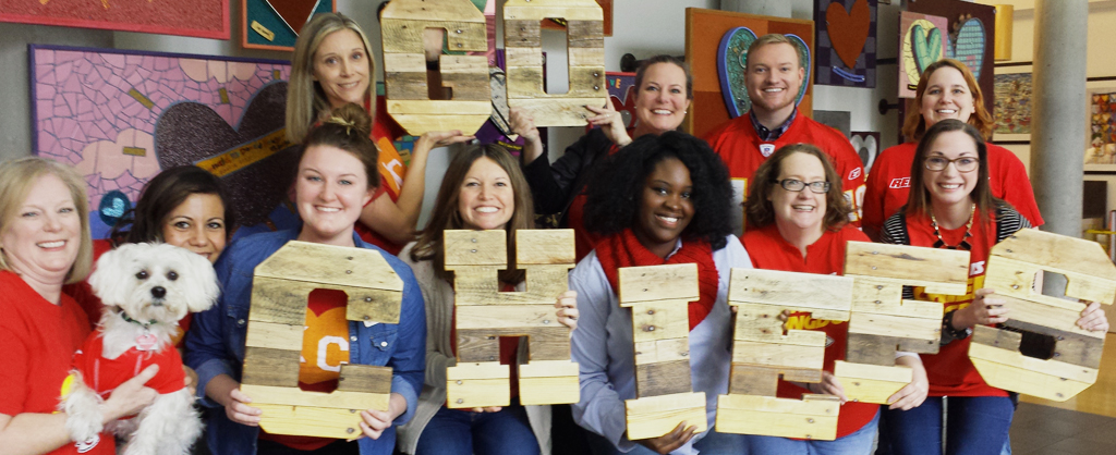 The eleven staff members of the Ronald McDonald House Charities of Kansas City
